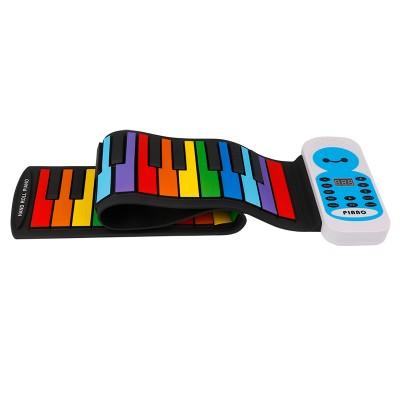 Гибкое пианино для детей BabySmile Music Rainbow MR49