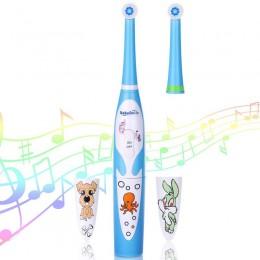 Детская электрическая зубная щётка BabySmile Kids