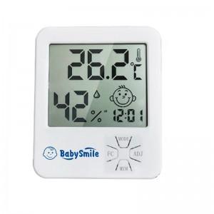 Термометр-гигрометр BabySmile Emoji для детской комнаты